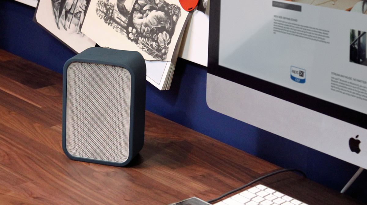 Flex Skin Speaker accessory blue