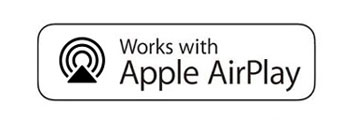 Works with AirPlay2 logo